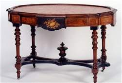 170 VICTORIAN CENTER TABLE Renaissance Revival design
