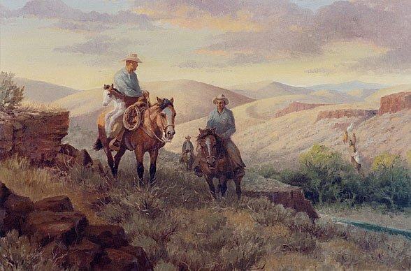 840: EDWARD B. QUIGLEY (Portland, Oregon 1895-1986) Oil
