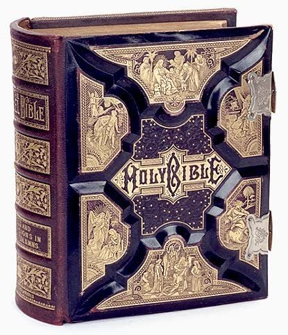 """6: A VERY COLLECTIBLE PICTORIAL """"HOLY BIBLE"""", King Jame"""