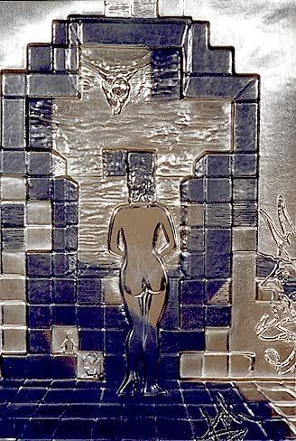 "866: SALVADOR DALI (Spanish, 1904-1989) ""Lincoln in Dal"