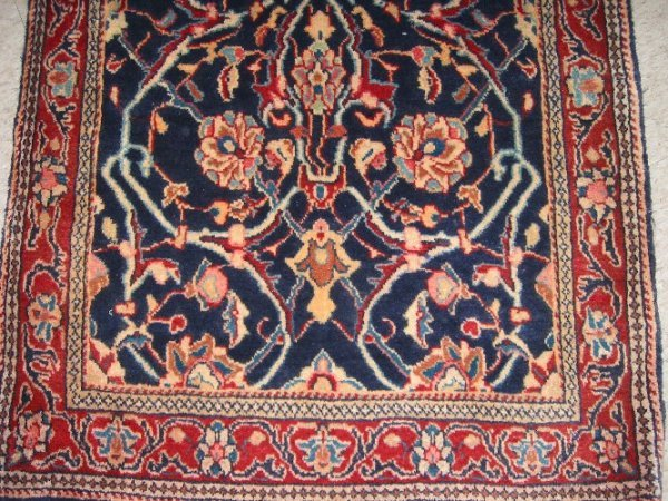 57: PERSIAN MAHAL RUNNER, all-over floral tracery desig