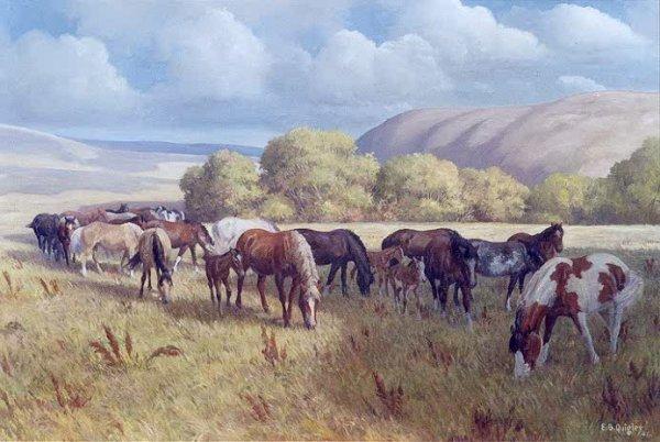 821: EDWARD B. QUIGLEY (Portland, Oregon 1895-1986) Oil