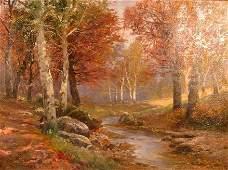 836: KARL VIKAS (Austrian, 1875-1934) Oil on canvas A c