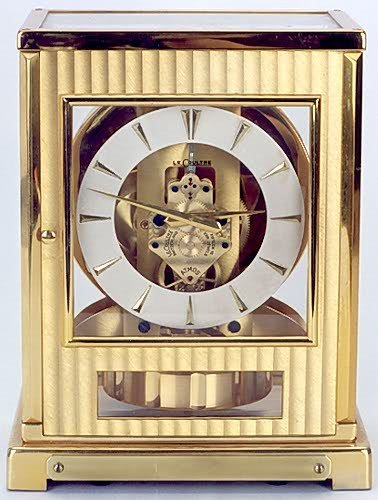 9: SWISS ATMOS CLOCK, LeCoultre & Co., caliber 522, ser
