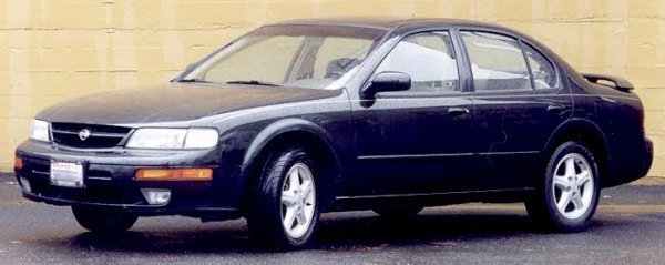 160: 1999 NISSAN MAXIMA FOUR DOOR SEDAN, V-6, Auto-tran
