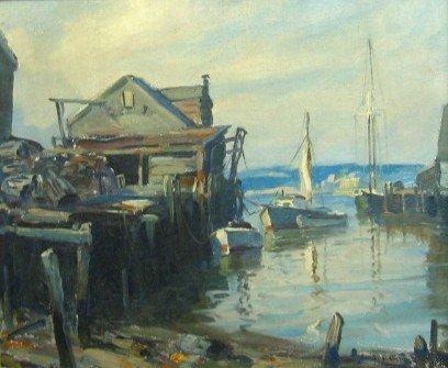 831: EMILE A. GRUPPE (New York, N.Y. 1896-1978) Oil on