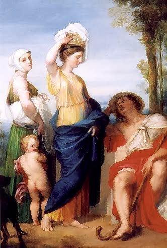 839: GOTTLIEB WELTE (German, 1745-1790) Oil on canvas T