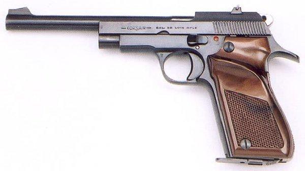 77: UNIQUE ARMS CORSAIR MODEL D6 SEMI-AUTO PISTOL, .22