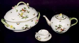 765 A SUPERB SET OF HEREND CHINA 78 pieces in the R