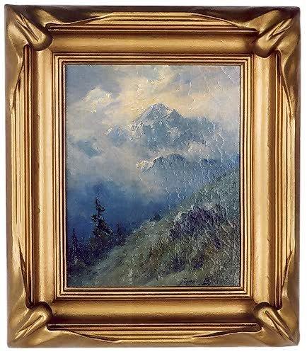 781: SYDNEY LAURENCE (Anchorage, Alaska 1865-1940) Oil
