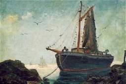 EMILE A. GRUPPE (New York, N.Y. 1896-1978) Oil on
