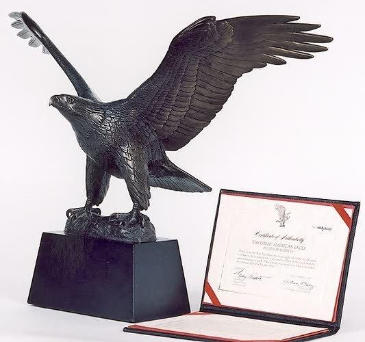 1: GILROY ROBERTS (Newton Square, Pa. born 1905) Bronze