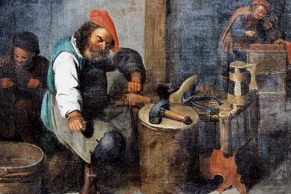 794: ATTRIBUTED TO THE FLEMISH ARTIST, David Ryckaert I