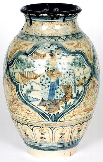 720: ROOKWOOD POTTERY VASE, porcelain glaze, signed by