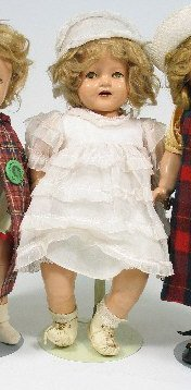 914: AN IDEAL SHIRLEY TEMPLE BABY DOLL, c. 1934, compos