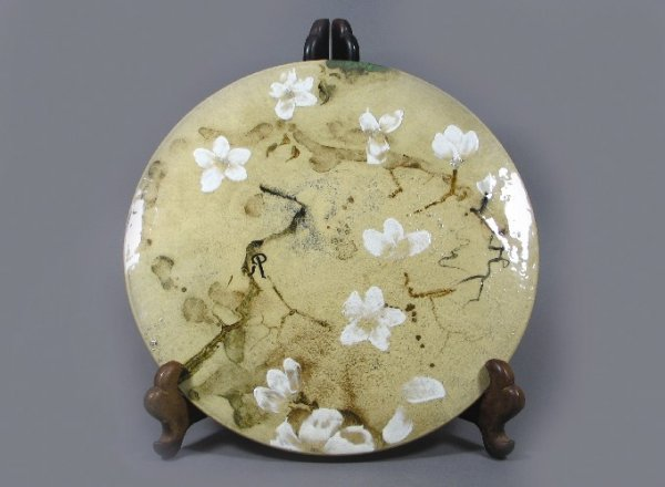24: ROOKWOOD ART POTTERY WALL PLAQUE, unusual Limoges s