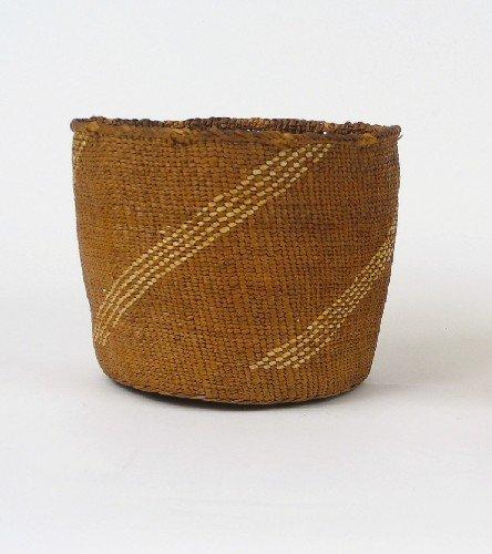 9: QUINAULT (NORTHWEST WASHINGTON) INDIAN BASKET, woven