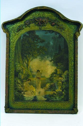 "22: MAXFIELD PARRISH COLOR PRINT ""The Garden of Dreams"""
