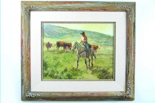 793: NEWMAN MYRAH (Canadian, born 1921) Oil on canvas A