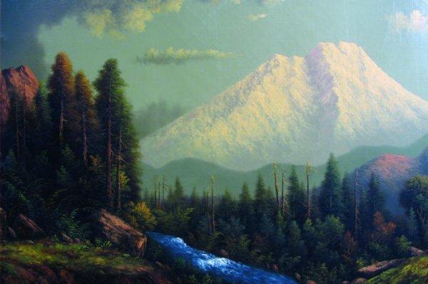 """820: ELIZA R. BARCHUS (""""the Oregon artist"""", 1857-1959)."""