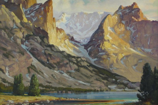 13: LEROY E. GREENE (Montana, born 1893) Oil on canvas