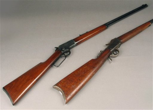 19: MARLIN MODEL 97 LEVER ACTION RIFLE,  22 s,l or lr c