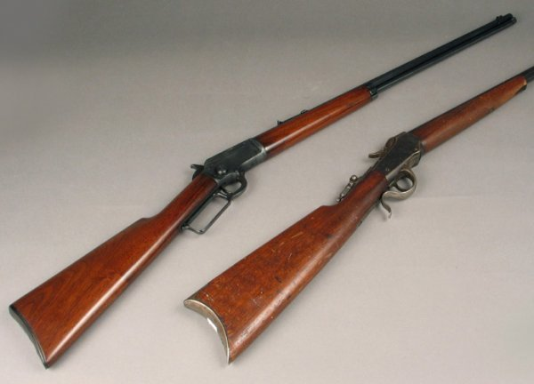19: MARLIN MODEL 97 LEVER ACTION RIFLE, .22 s,l or lr c