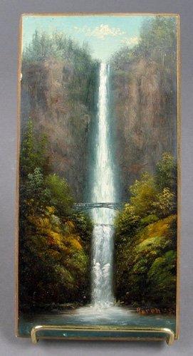 """5: ELIZA R. BARCHUS (""""the Oregon artist"""" 1857-1959).Oil"""