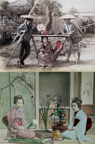 23: KUSAKABE KIMBEI (Japanese, 1841-1934) TWO albumen p
