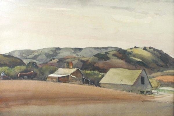 23: MILLARD OWEN SHEETS (Gualala, California 1907-1989)