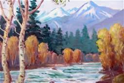 130: CLYDE LEON KELLER (Portland, Oregon 1872-1962) Oil