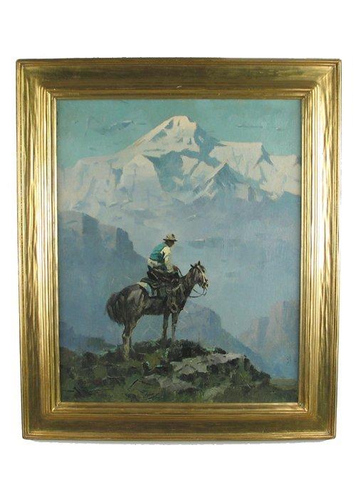 748: EUSTACE PAUL ZIEGLER (American, 1881-1969). Oil on