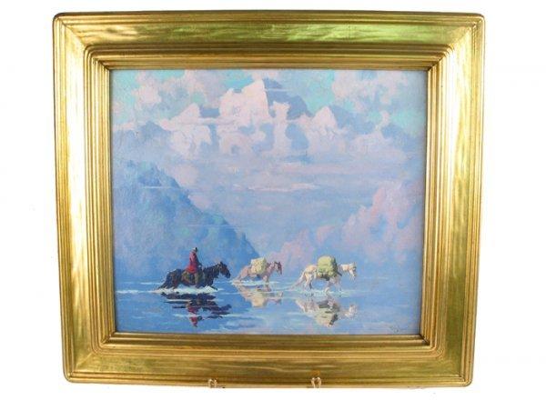 781: EUSTACE PAUL ZIEGLER (American, 1881-1969). Oil on