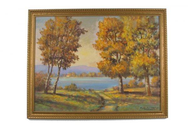 23: CLYDE LEON KELLER (Portland, Oregon 1872-1962) Oil