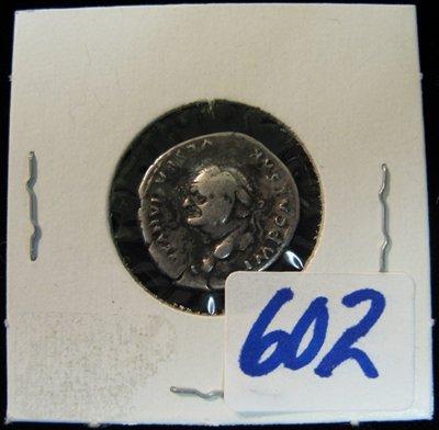 602: GENUINE SILVER ROMAN EMPIRE DENARIUS COIN