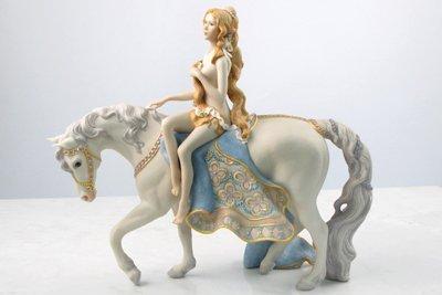 14: CYBIS PORCELAIN FIGURE, Lady Godiva, the  semi-clad