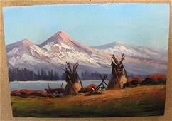 13 HEINIE HARTWIG California born 1937  Oil on Maso