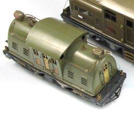 1: LIONEL NO. 10E STANDARD GAUGE TOY TRAIN ENGINE  havi