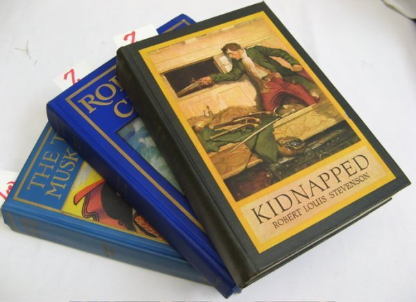 """7: THREE CHILDREN'S COLLECTIBLE BOOKS: """"Kidnapped""""  by"""
