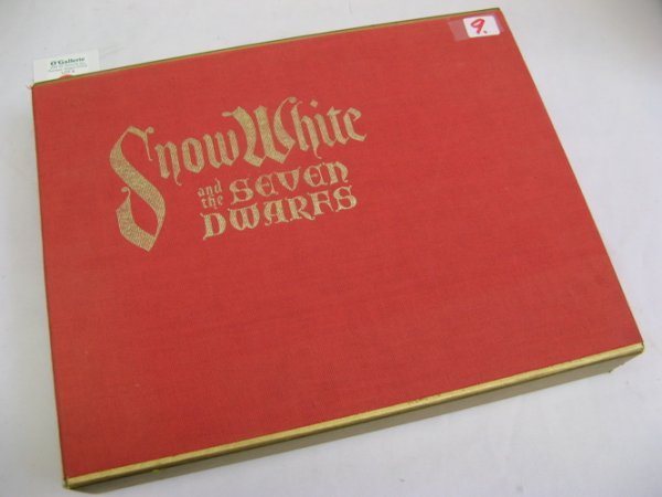 """9: COLLECTIBLE CASED BOOK, """"Snow White and the  Seven D"""