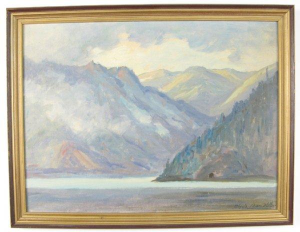 13: CLYDE LEON KELLER (Portland, Oregon 1872-1962)  Oil