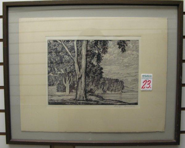 23: LUIGI LUCIONI (Italy/New York, N.Y. 1900-1988)  An