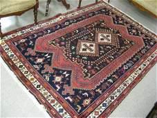 102 PERSIAN SIRJAN AFSHARI AREA RUG double  geometric