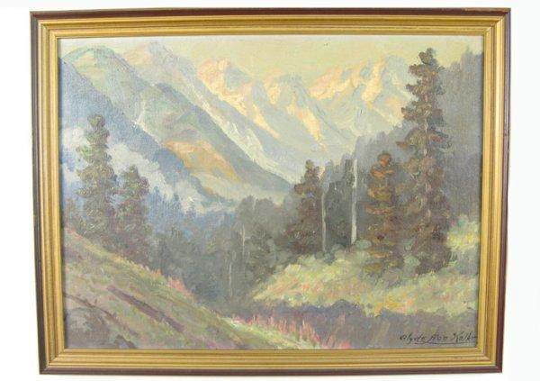 610: CLYDE LEON KELLER (Portland, Oregon 1872-1962)  Oi