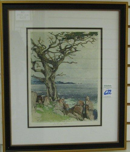 622: LUIGI KASIMIR (Austrian, 1881-1962)  Etching and a