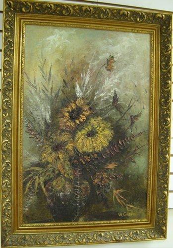 23: WILLY GISIN (Swiss, born 1921)  Oil on Masonite  St