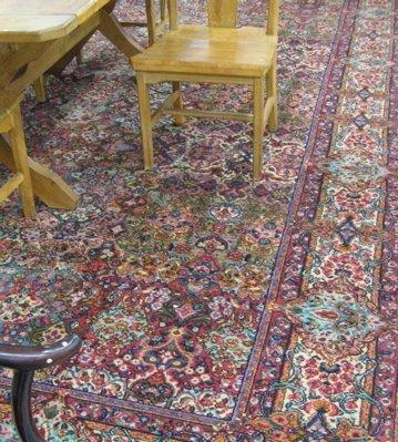 454: A KARASTAN AMERICAN ORIENTAL CARPET, Persian  Kerm