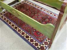 824 824 THREE PERSIAN RED FIELD AREA RUGS 36 x 66