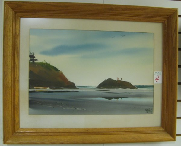 4: CHARLES MULVEY (Portland, Oregon born 1918)  Waterco