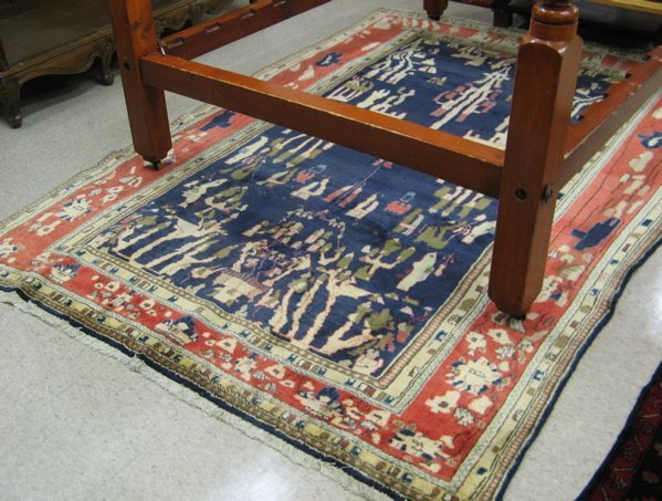 10: PERSIAN ARDEBIL CARPET, hand knotted in a  stylized